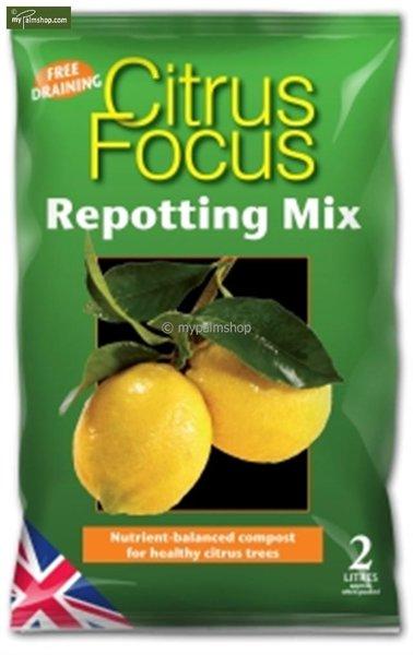 Citrus Focus Repotting Mix - 2 ltr
