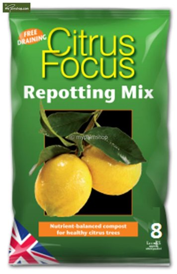 Citrus Focus Repotting Mix 8 ltr.