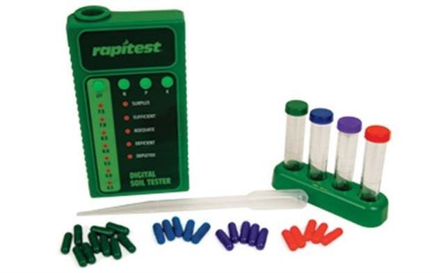 Rapitest electronische grondmeter inclusief 25 tests