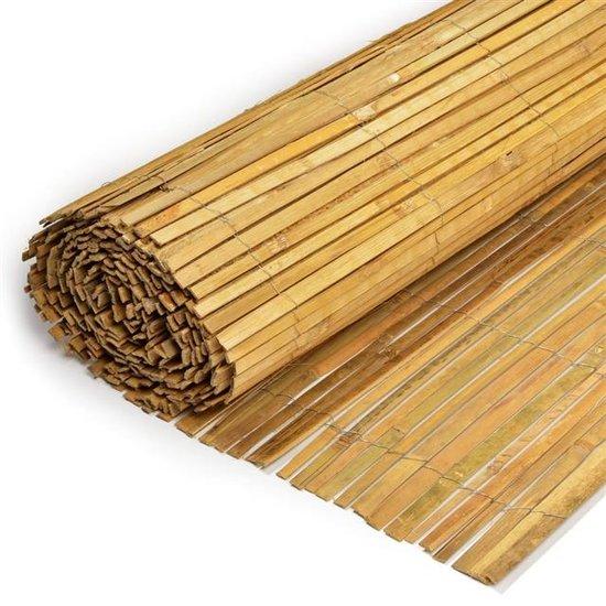Bamboe mat, gespleten 150cm x 500cm