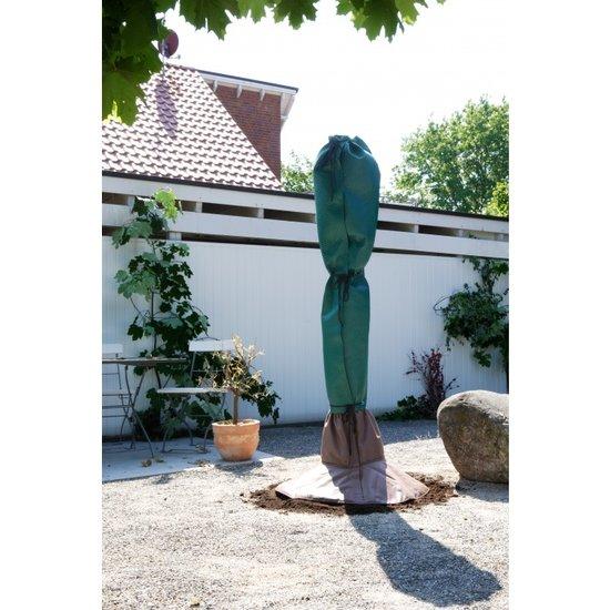 Winterbescherming complete set: voor stam en blad 150 cm x Ø 35 cm - wortelbescherming pot Ø 100 cm